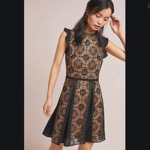 Anthropologie Monique Lhuillier Calypso Lace Dress